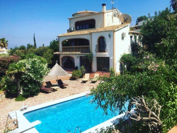 VP32 Maison de style espagnol à vendre à Denia avec vue sur la mer, Alicante, Espagne. - Photo