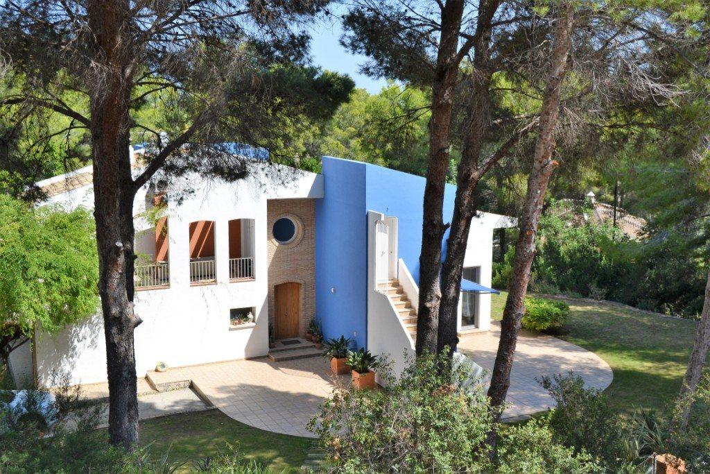 VP33 Moderne Villa zum Verkauf in La Sella mit Meerblick, Alicante, Spanien. - Objektbild 8