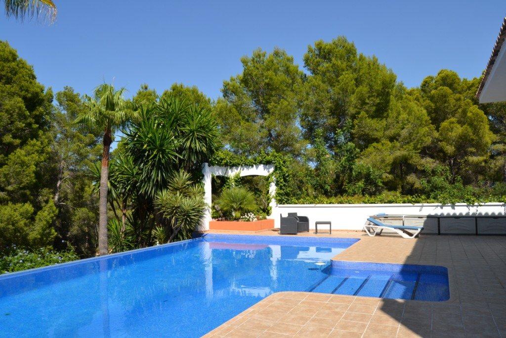 VP33 Moderne Villa zum Verkauf in La Sella mit Meerblick, Alicante, Spanien. - Objektbild 11