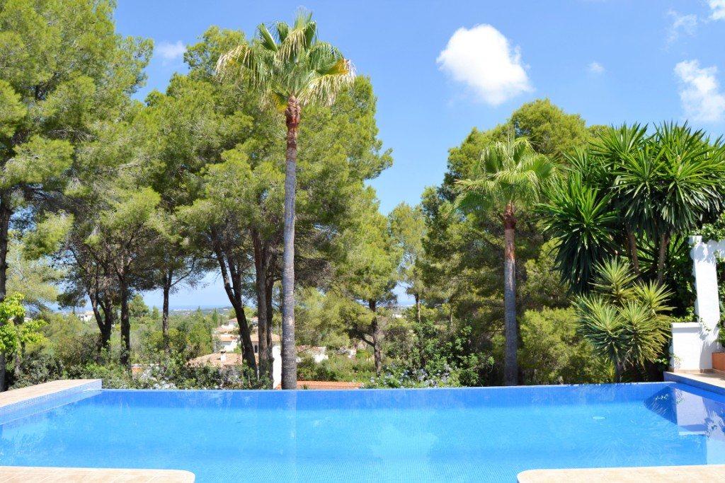 VP33 Moderne Villa zum Verkauf in La Sella mit Meerblick, Alicante, Spanien. - Objektbild 12