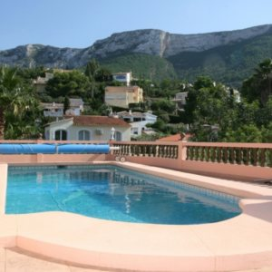 VP67 Villa for sale close to Denia with sea and mountain views
