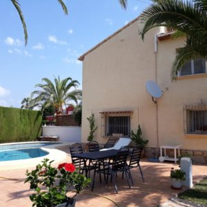 VP100 Villa for sale close to Denia with large plot and guest accomodation