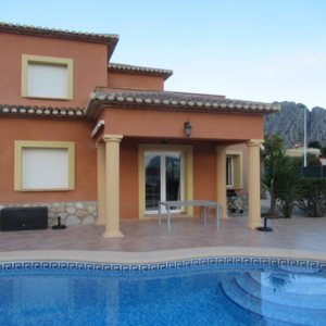 VP101 Villa for sale in Beniarbeig with 3 bedrooms and pool