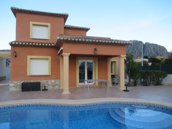 VP101 Villa for sale in Beniarbeig with 3 bedrooms and pool - Photo