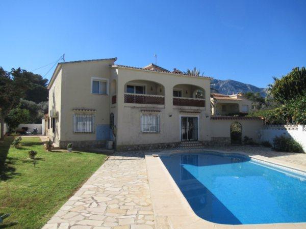 VP46 Villa for sale in Las Rotas, Denia, Alicante Spain - Photo