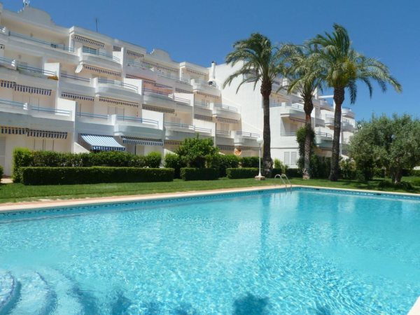 A4 Denia beach apartment for sale with 2 bedrooms, in Spain - Photo