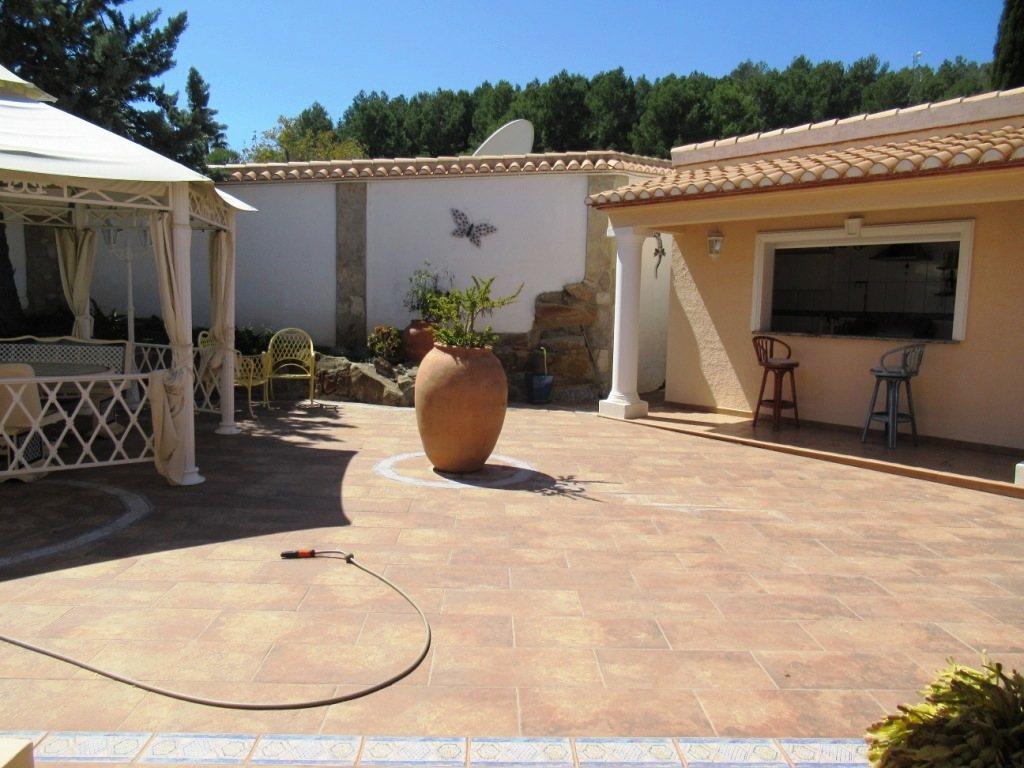 VP52 Chalet en venta en La Sella Golf con vistas panorámicas al mar en Alicante - Foto Propiedad 11