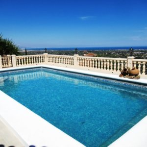 VP52 Villa for sale in La Sella Golf with panoramic sea views, Alicante, Spain