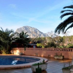 VP53 Rustic Villa for sale with views of the mountain in Javea, alicante, Spain
