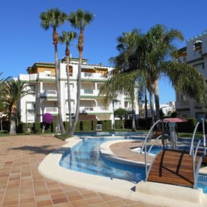 X-P-303 Apartment in DéNia with 2 Bedrooms