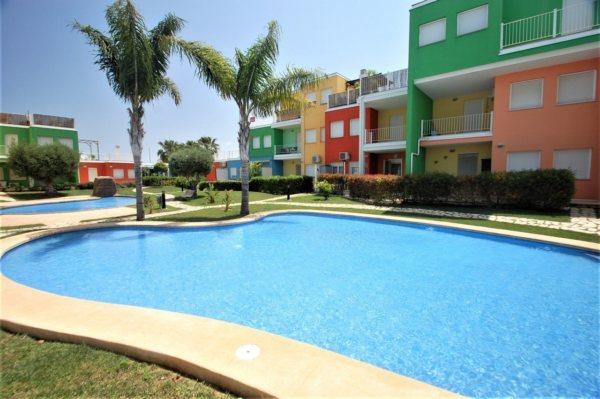X-3045 Apartment in El Verger with 2 Bedrooms - Photo