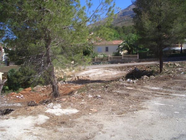 X-752 Plot Land in DéNia - Photo