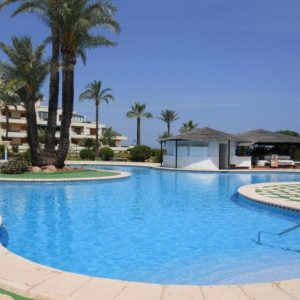 A36 First line beach apartment for sale in Denia Spain