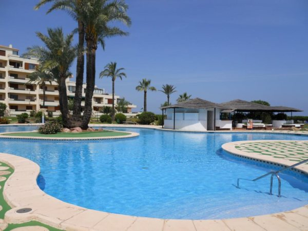 A36 First line beach apartment for sale in Denia Spain - Photo