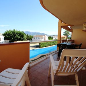 X-8895 Apartment in DéNia with 2 Bedrooms