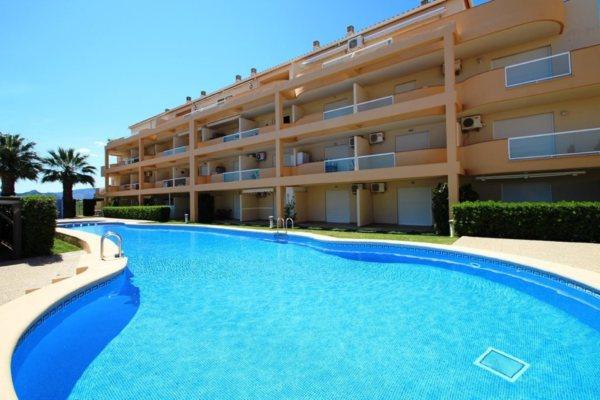 X-8897 Apartmento en DéNia con 1 Dormitorios - Foto
