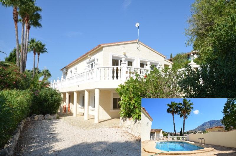 Villa fopr sale in Denia with sea views