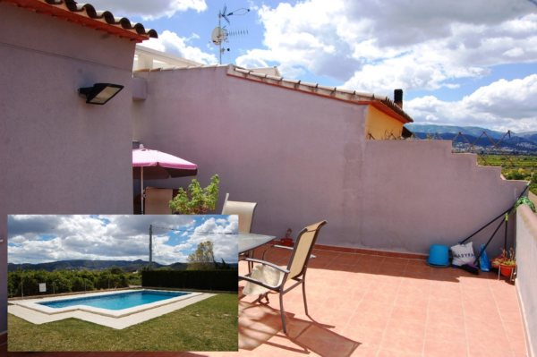A37 Penthouse for sale in Ondara with open terrace views and pool - Photo