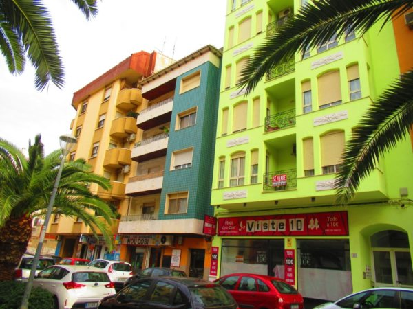 P7 Denia town flat apartment for sale with 2 bedrooms - Photo