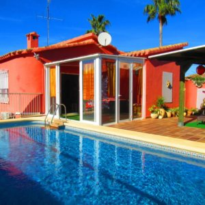 VP14 Villa for sale in Denia with 3 bedrooms and pool in Spain