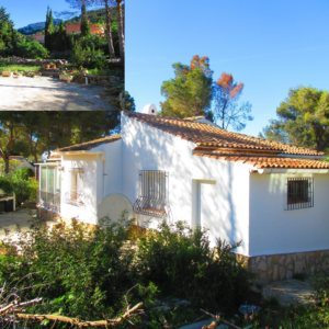 V24 Villa for sale in Denia with 3 bedrooms sea and mountain views