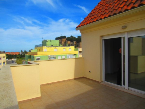 P14 Penthouse for sale in Denia center with 4 bedrooms - Photo