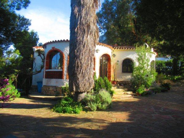 V09 Maison à vendre à Denia avec vue sur la mer à Alicante Espagne - Photo
