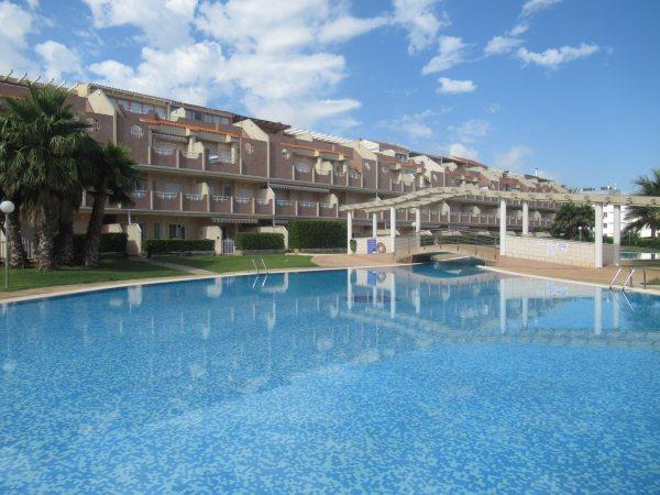 A12 First line beach Apartment for sale in Las Marinas Denia - Photo