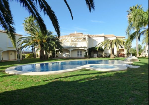 B10 Terraced house for sale in Denia las marinas beach with 3 bedrooms - Photo