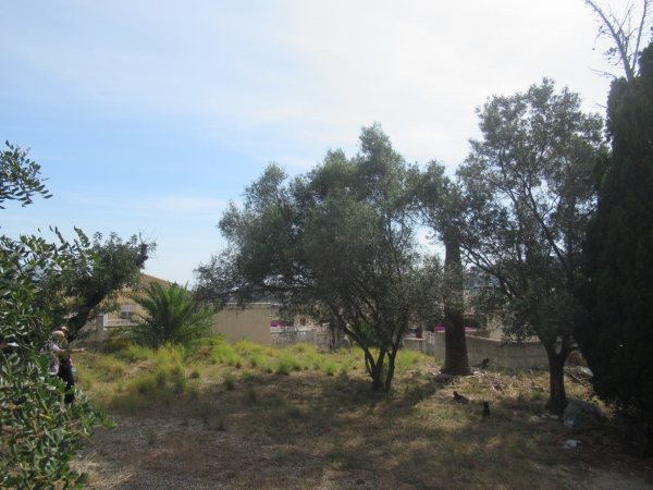 PL21 parcela terreno en venta con licencia de obra en Orba Alicante - Foto