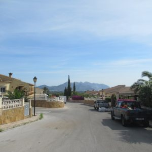 PL21 Plot of land for sale with building licence in Orba Alicante