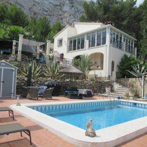 VP42 Villa zum Verkauf in Denia mit Pool- und Meerblick in Spanien