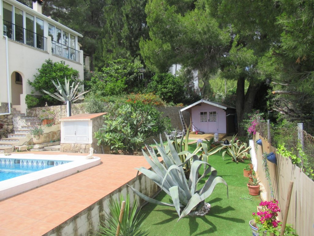 VP42 Villa for sale in Denia with pool and sea views in Spain - Property Photo 5