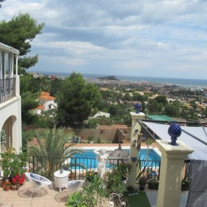 VP42 Villa for sale in Denia with pool and sea views in Spain