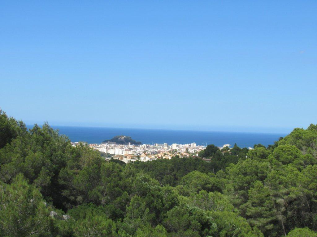 Villa for sale in Denia with sea views