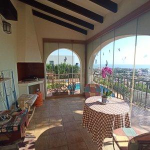VP60 Luxusvilla zum Verkauf in Denia mit Panoramablick auf das Meer