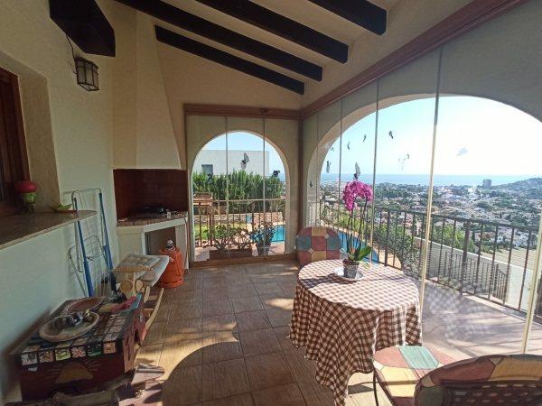 VP60 Maison de luxe à vendre à Denia avec vue panoramique sur la mer - Photo