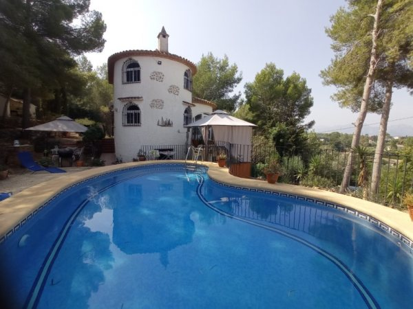 VP8 Villa for sale in La Sella golf with sea views - Photo