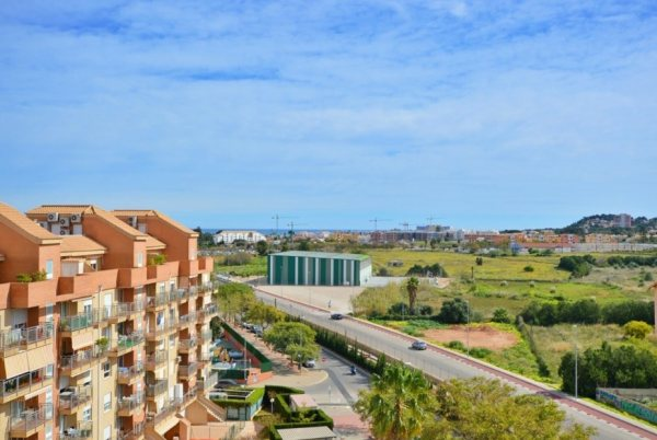 A20 Denia apartment for sale with 3 bedrooms and sea views - Photo