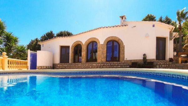 VP65 Villa for sale in Denia with sea views Spain. - Photo