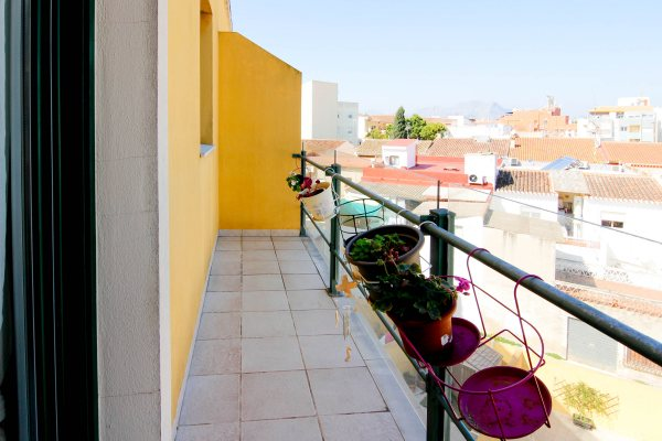 X-LL815 Penthouse in La Xara with 1 Bedrooms - Photo